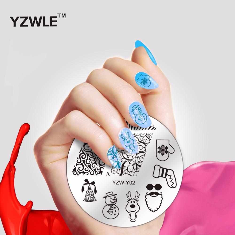 Christmas Designs Nail Stamp Decoration Professional Stamping ...