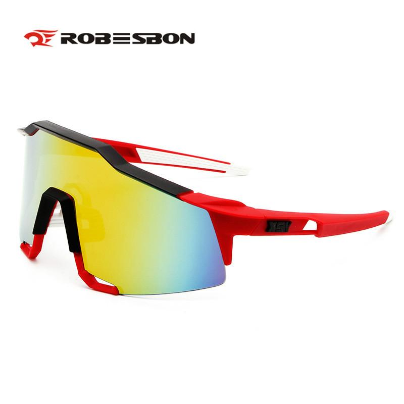 8c8a213e2e ROBESBON Cycling Sunglasses Men Women UV400 Eyewear Outdoor Mountain ...