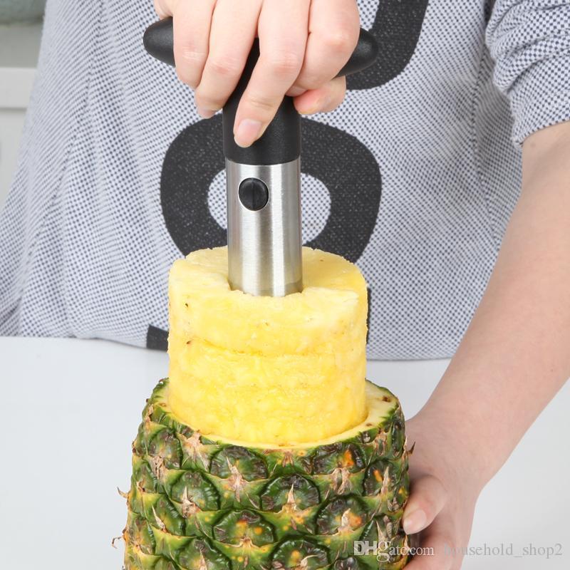 2018 Stainless Steel Pineapple Peeler Cutter Slicer Corer Peel Core Tools Fruit Vegetable Knife Gadget Kitchen peeler tools