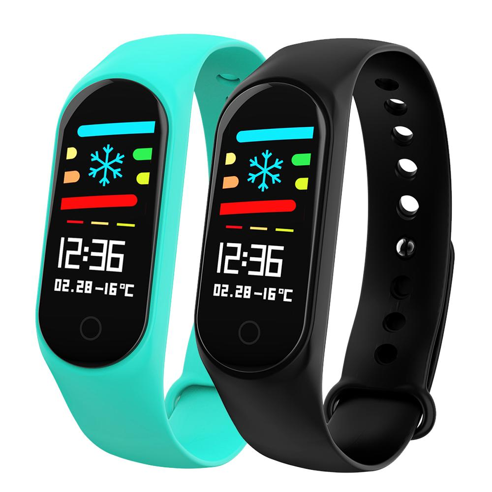 Watches Enthusiastic Y5 Smart Band Watch Color Screen Wristband Heart Rate Activity Fitness Tracker Smartband Electronics Bracelet Pk Xiaomi Miband 2