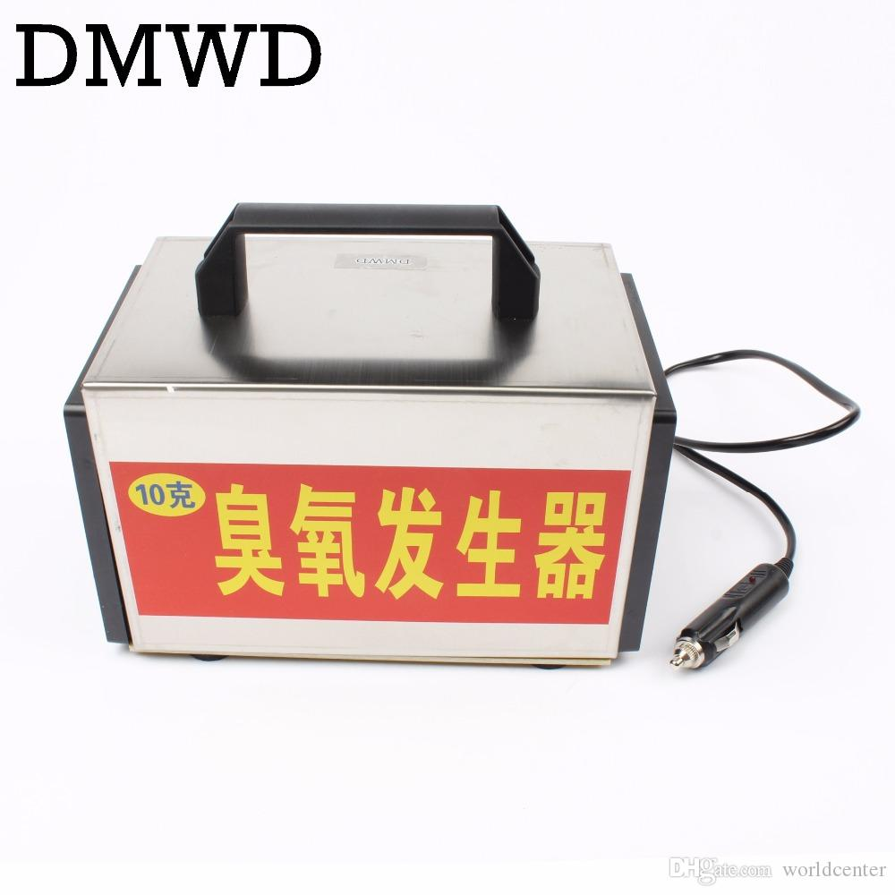 DMWD 12V 10g Ozone Generator Car Purifier AUTO Air Cleaner home ozone  disinfection Sterilizer Portable Ozoner With Timing Switch