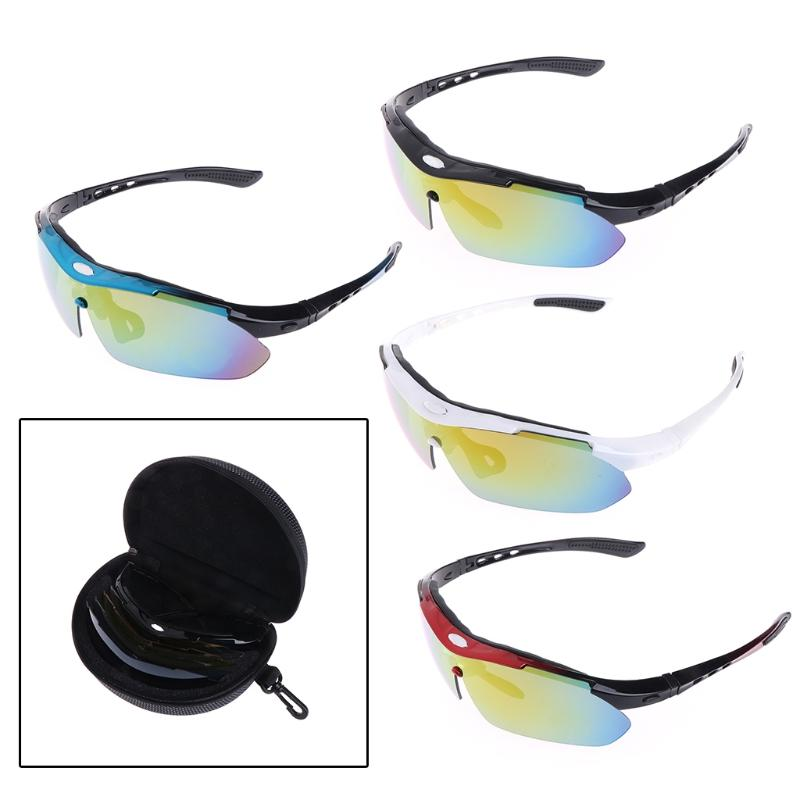 de22dbc8c5cbf 2019 Of 5 Groups Lens Cycling Glasses Outdoor Sports Sunglasses Bicycle  Eyewear  20 3L From Jinzoug
