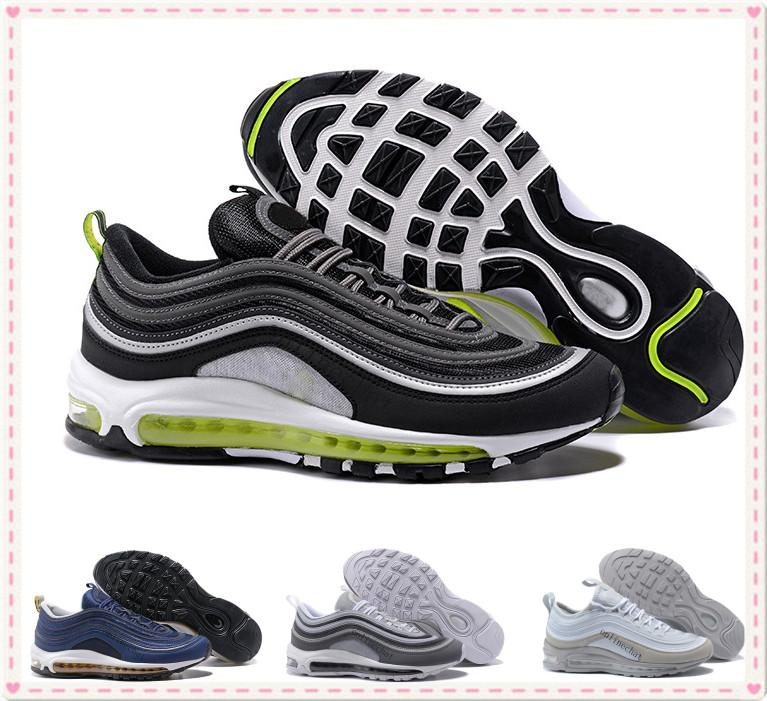 in China online Men Women Sneakers Classic 97 Zapatillas Hombre Running Shoes Black White Trainer Cushion Breathable Walking Sports Shoes Siz36-46 cheap sale affordable cheap sale high quality cheap sale nicekicks yeDlA