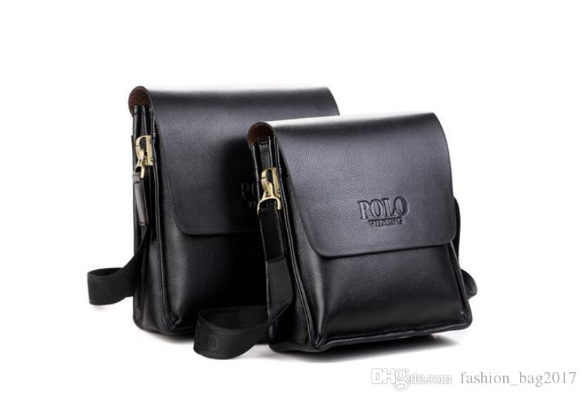 497872a8fa High Quality Men Messenger Bags Voguish Design Men Shoulder Bag Casual  Business Leather Vintage Fashion Polo Crossbody Bag Shoulder Bags Leather  Bags From ...