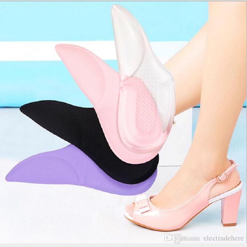 Schuhzubehör Leyou 2 Zu 5 Pairs Silicon Heel Griffe Für Schuhe Pads Für Heels Kissen Pads Fußpflege Silicon Zurück Ferse Liner Für Schuhe Neue Schuhe