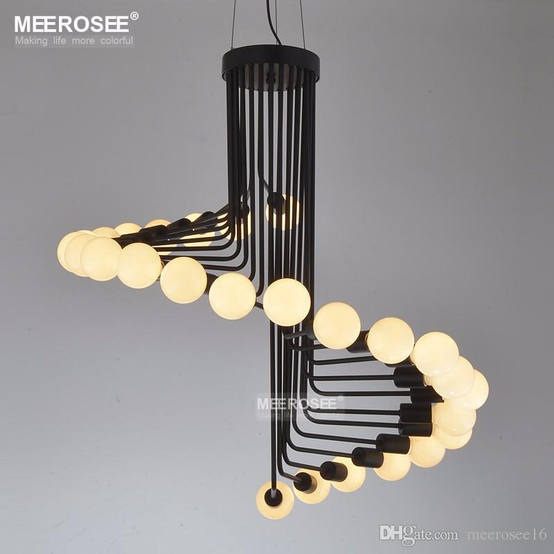 2018 New Modern Chandeliers Lighting Fixture Creative Metal Lustres Hanging  Suspendu Lamp For Dining Room Home Decoration Pendant Lights Hanging Ceiling  ...