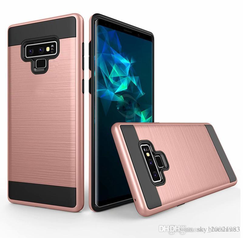 1effee44984 Fundas Personalizadas Para Celulares Para Samsung Galaxy Note9 Note 9 Case  Slim Armor Silicon Cepillado Acabado TPU Gel Protección De La Piel Shell  Shell ...