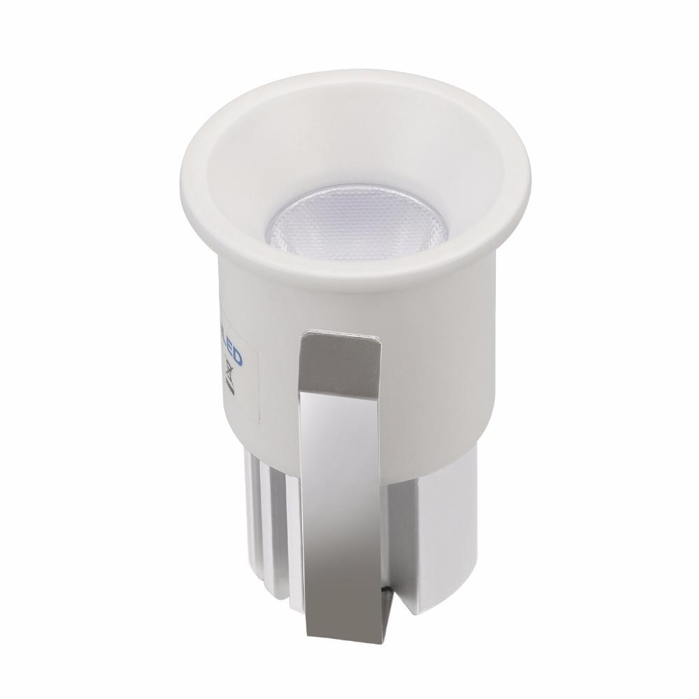 3W Led Downlights Mini Recessed Cabinet lighting Led Spot light Diameter 28mm Include DC12/AC220V Driver for Cree Chip