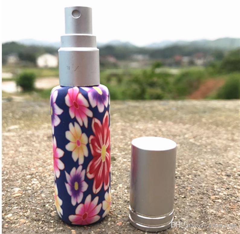 Decoración de cuello de 10 ml de cuello de cerámica Esencia de cerámica Botella de perfume Fragancia Desodorante Botella vacía, / lote