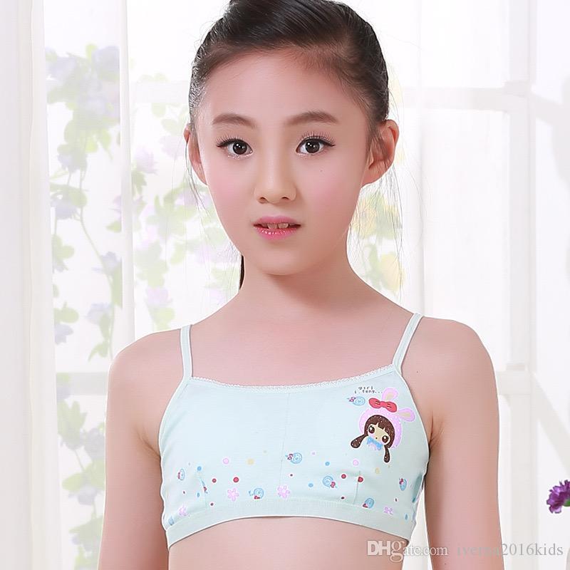 Großhandel 2018 Mode Pubertät Unterwäsche Junges Mädchen