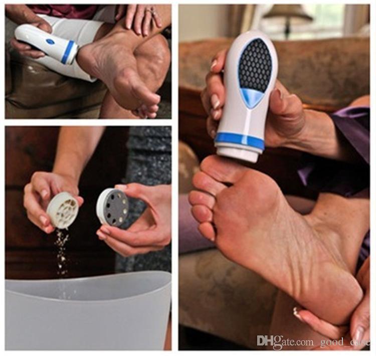 Педи спин электронный каллус для ног удаляет PediSpin сухой кожи Remover педикюр мозоли сухой мертвой кожи для ухода за ногами инструмент массажер 2018 Лучший
