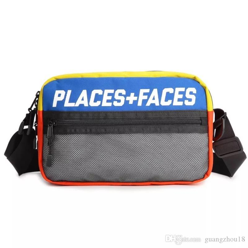 84c9f70deafa 2019 2018 Places+Faces 3M Reflective Skateboards Bag P+F Message Bags  Casual Men And Women Hip Hop Shoulder Bag Mini Mobile Phone Packs From  Guangzhou18