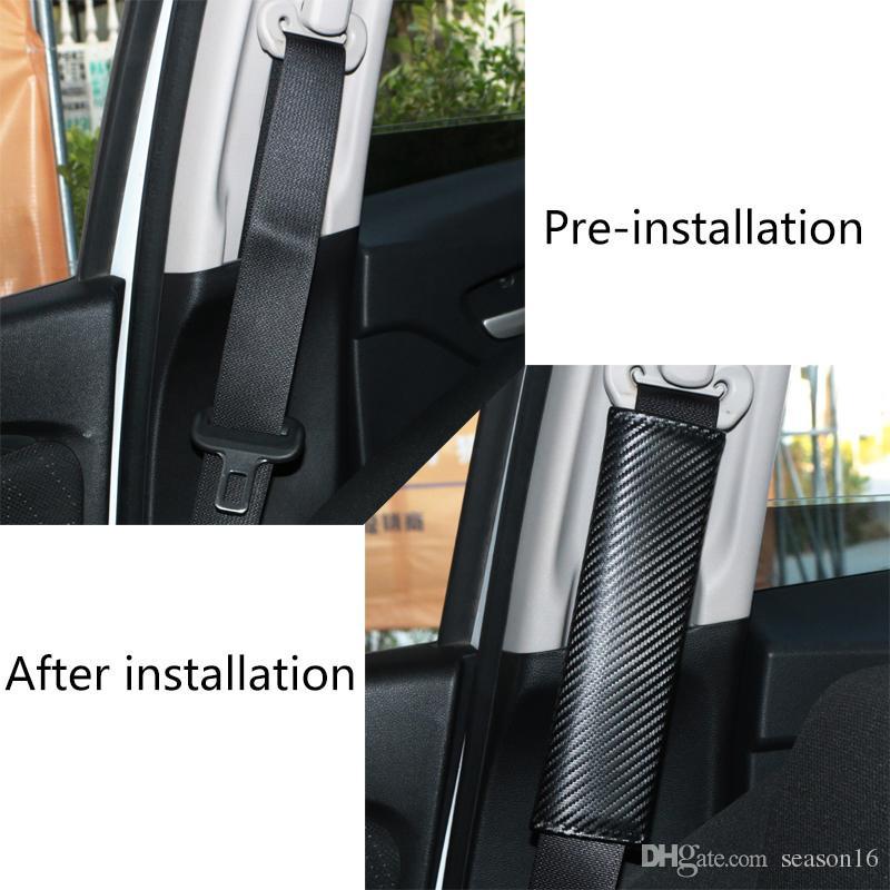 Автомобильные наклейки Безопасный ремень Чехол для линии Audi Sline Pline A1 A3 A4 B6 B8 B5 B7 A5 A6 C5 C6 S3 S4 S5 S6 S7 Авто эмблемы Стайлинг автомобилей