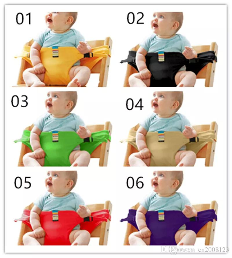 Baby Chair Portable Infant Seat Product Dining Lunch Chair/Seat Safety Belt Feeding High Chair Harness Baby chair seat JHW221