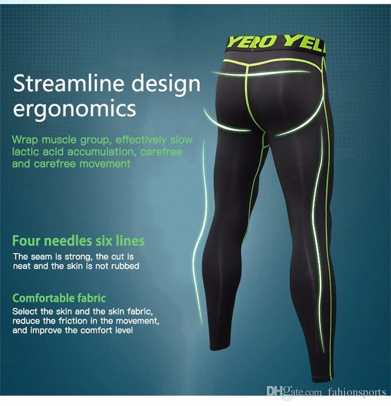 Hot Sale Men GYM Compression Bodybuilding Pantalones Hombre Fitness Tights Trousers Sweat Pants For Men Sport Running Leggings