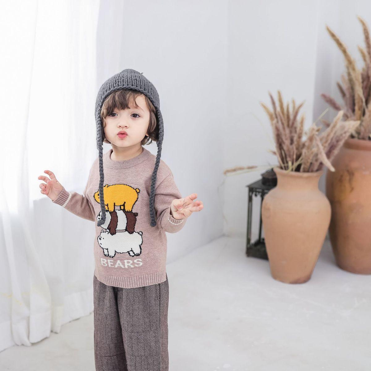 b713d87a9 Barrou Children S Garment Autumn And Winter 2018 New Pattern In ...
