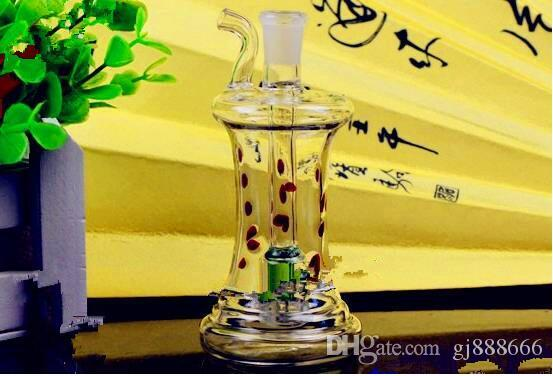Stripe Shaped Hookah ,Wholesale Bongs Oil Burner Pipes Water Pipes Glass Pipe Oil Rigs Smoking