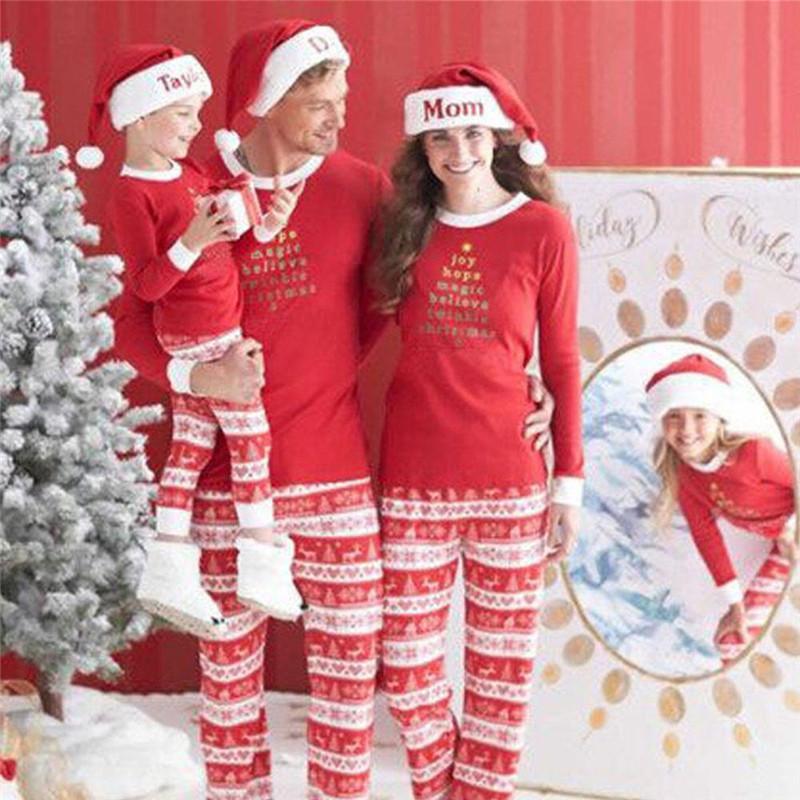 2018 plus size christmas day men pajamas autumn winter length long sleeve letter print male night wear sleeping pajamas oversize xxxl from xx2015