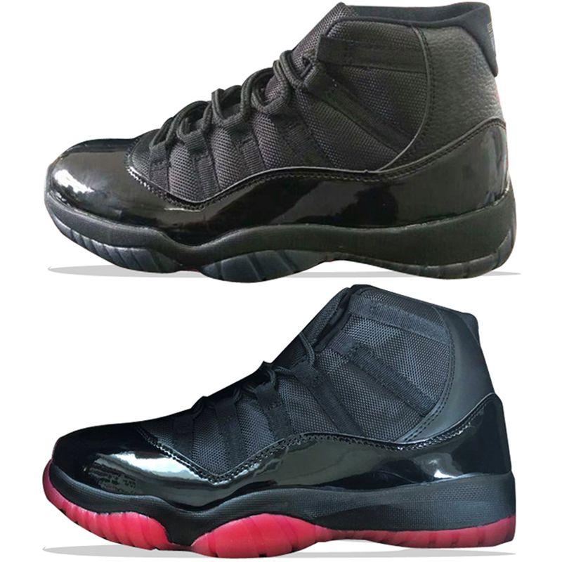 4bb2c785b41 Acquista 2018 11 11s Gamma Black Bred Scarpe Da Basket Da Uomo Gamma Blu  Nero Rosso Mens Sneakers Sportive Scarpe Da Ginnastica Outdoor Designer  Scarpe Da ...