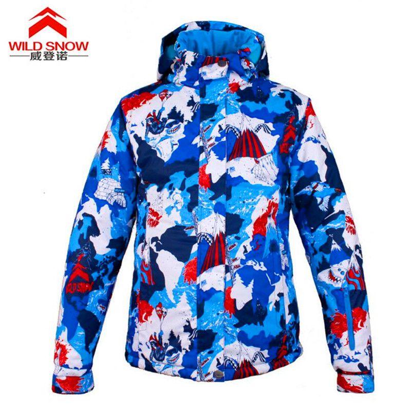 e3250fa7ba Winter Outdoor Sports Wear Camping Windproof Waterproof Coat Thermal ...