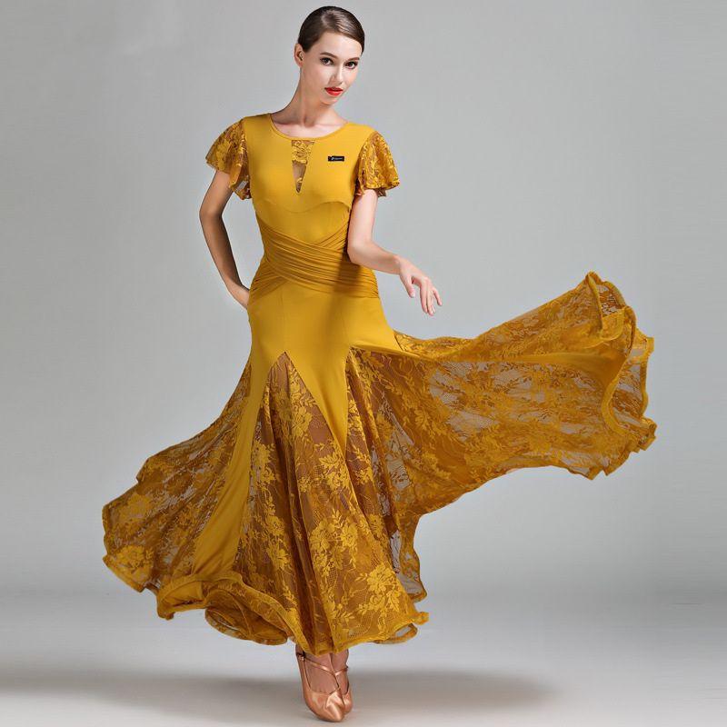 sports shoes dc415 2853c 3 colori verde vestito da ballo donna sala da ballo valzer abiti da ballo  abiti da ballo rosso spagnolo flamenco vestito da usura
