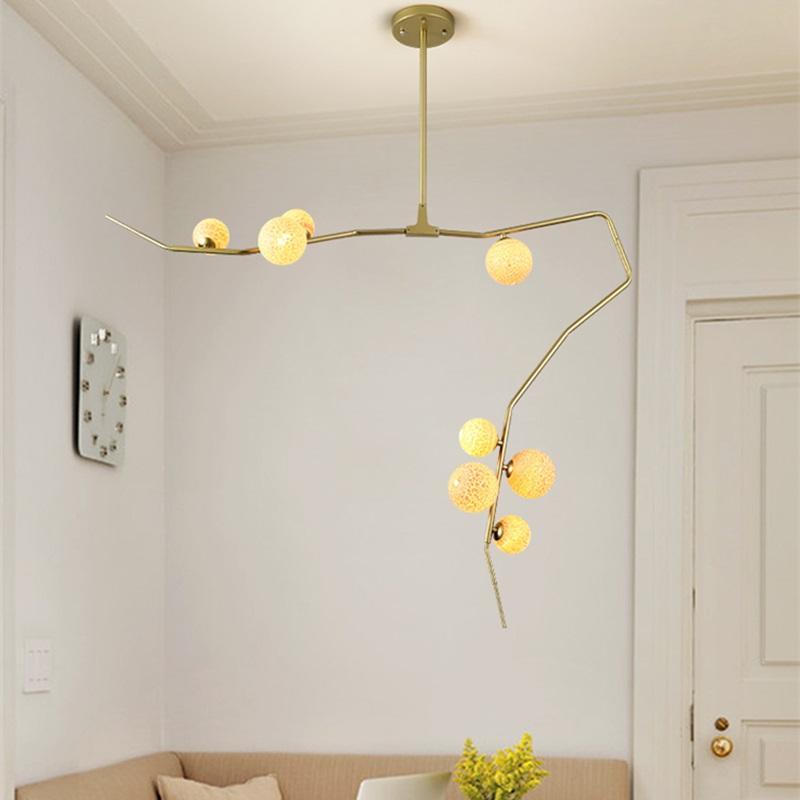 Großhandel Moderne LED Kronleuchter Wohnzimmer Hängeleuchte Home ...