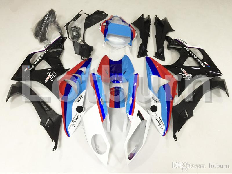 Fit For BMW S1000RR S1000 2012 2013 2014 12 13 14 Motorcycle Fairing Kit High Quality ABS Plastic Injection Molding Custom Made A465