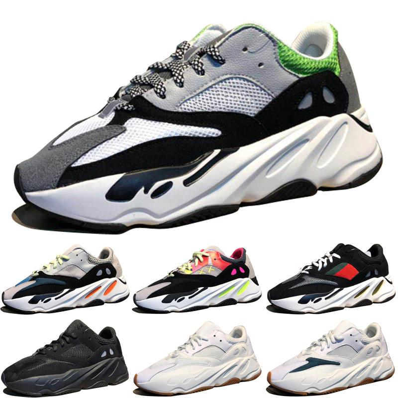 Hot Kanye West Wave Runner 700 Boots Grey Running Shoes for men 700s boot womens mens Sports Sneakers trainers outdoor designer Causal shoes professional sale online KPpHSKQENP