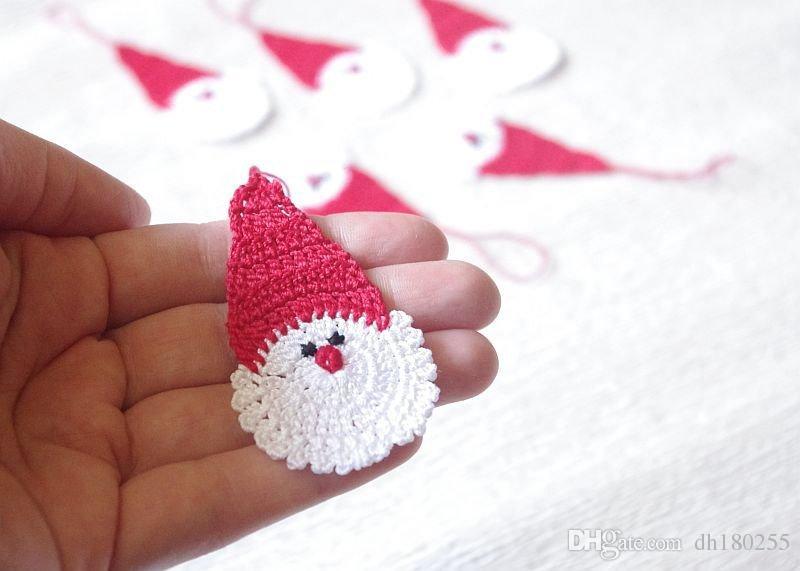 Grosshandel Satz Von 10 Hakeln Weihnachtsmann Weihnachtsschmuck