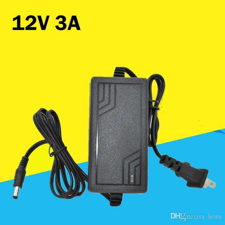 Brand new 12V 3A power supply 100V-240V 50-60Hz AC/DC adaptor charger IC solution 12V3A power adapter desktop monitoring LCD power supply