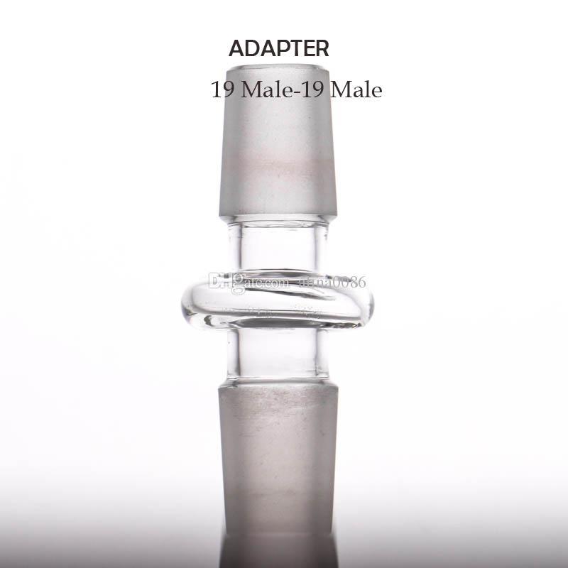 Altri accessori fumare Convertitore di vetro Produttore Adattatore all'ingrosso 10-10 10-14 14-14 14-18 18-18mm Giunto maschile Tutte le dimensioni possono mescolare