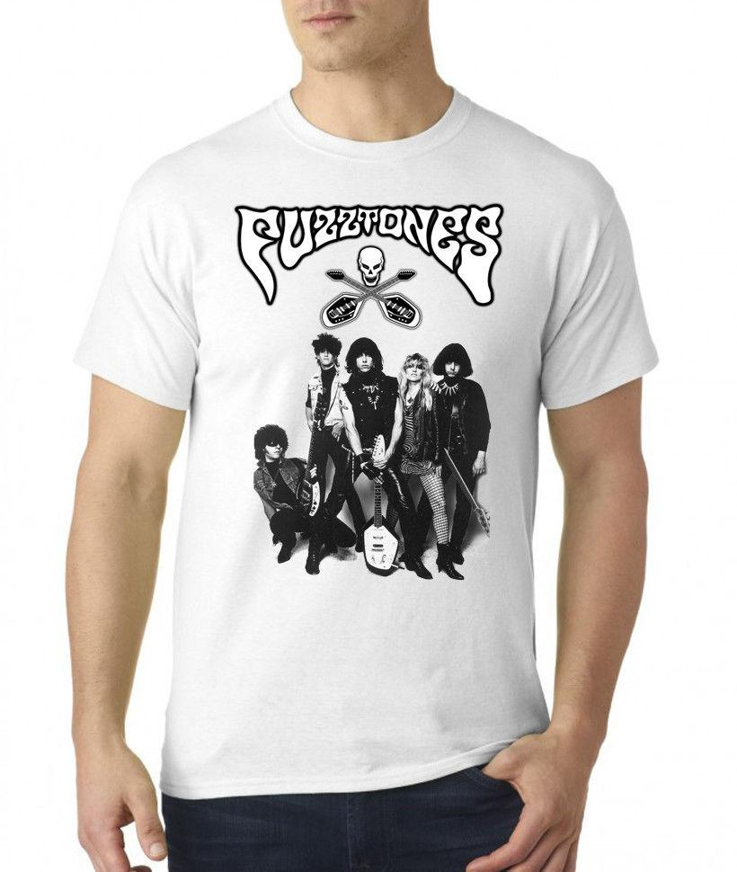 The Fuzztones Logo Men/'s T-shirt Black White S-2XL NEW