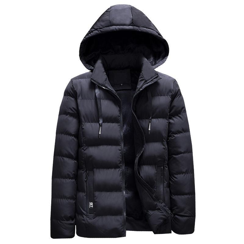 Fashion Brand Men Hooded Parka 2018 Winter Men S Jacket Coat Winter