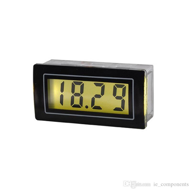 2 Units Digital DC Current Panel Meter 20mA 2A Digital Ammeter Panel Mount Amp Meter Analog DC Current Measuring Meter