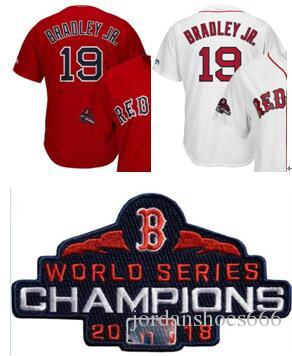 new concept af6f7 3e19b 19 Jackie Bradley Jr. 25 Steve Pearce 28 J.D. Martinez 50 Mookie Betts  Men's Boston jersey 2018 Champoins 16 Benintendi Jersey shirt 00