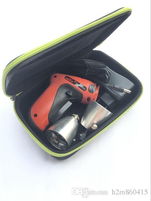 Высокое качество Новый КЛом беспроводная электрическая отмычка пистолет с различными лезвиями размер США / евро блок питания комплект оружие слесарь инструменты