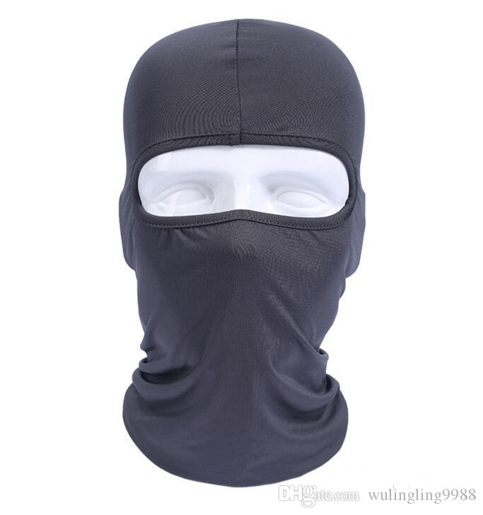 Camouflage Thermal Fleece Balaclava Warm Winter Ciclismo Ski Neck Maschere Cappe Paintball Cappelli Moto Tactical Full Face Mask i