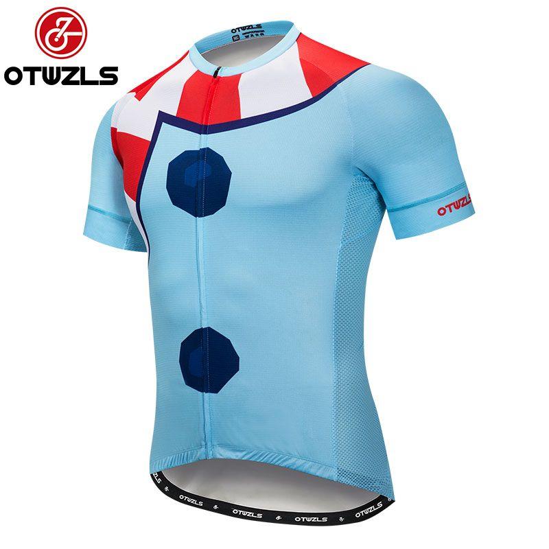 f3ce3c709 Satın Al 7.2018 Erkekler Bisiklet Jersey Yaz Kısa Kollu Mtb Bisiklet Giyim  Pro Takım Bisiklet Jersey Maillot Ropa Ciclismo