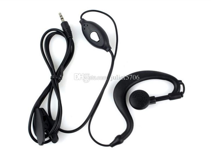 1 Pin 2 5mm Jack G Shape Headset Earpiece Ptt Mic For Retevis Rt 388
