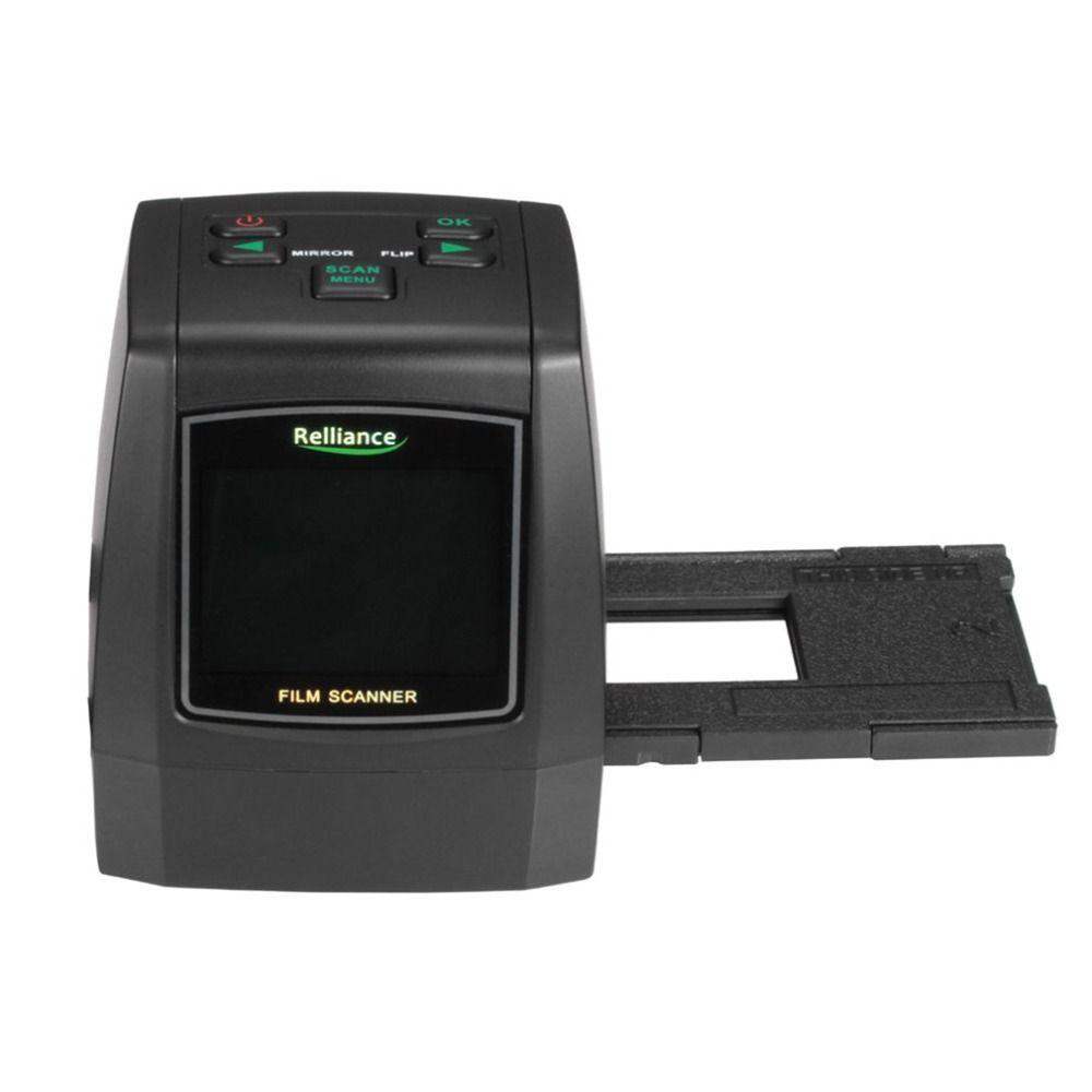 WL18 All-In-1 Film Scanner Slide Scanner Automatic B&W Slides Negatives  CMOS Sensor Speed-Load Adapters Super 8 Films