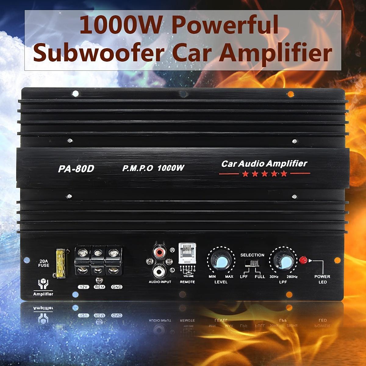 Großhandel Dhl 10 Stücke 12 V 1000 Watt Auto Lkw Verstärker Audio