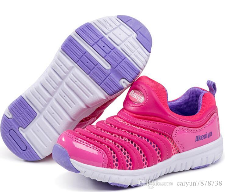 NEW2017 Children's Shoes Size Eur 26-35 Dynamo Free Big Kids Baby Shoes,Colors 11-20,Fit Boys+Girls,Slip-on Kids Running Shoes Sports Shoes
