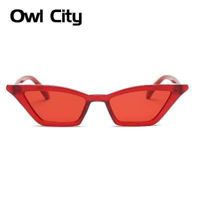 6c6a40864a3f Vintage Sunglasses Women Cat Eye Luxury Brand Designer Sun Glasses Retro  Small Red Ladies Sunglass Black Eyewear Female Shades Sun Glasses Oculos De  Sol ...