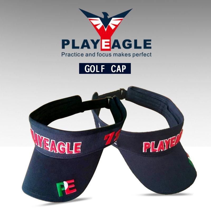 5cf13275b 2019 2018 Brand Visor Hat Summer Sun Brand Hat Caps Adjustable Size Outdoor  Sport Golf Tennis Hiking Hats With Custom Logo From Peniss