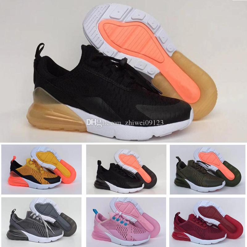 238124796d5 Compre Nike Air Max 270 27c Criança Infantil 270 Og Crianças Tênis De  Corrida Cacto 27c Aircushion Ao Ar Livre Da Criança Athletic 270 S Menino  Menina ...