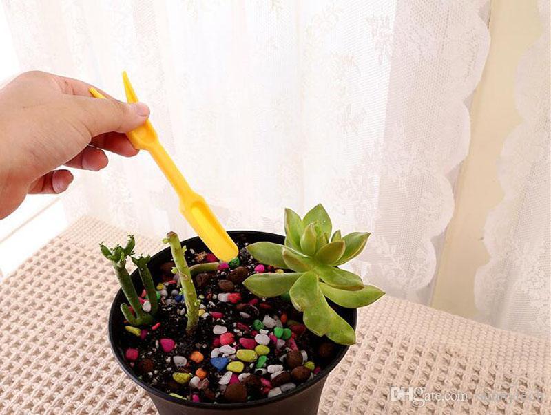 Mini Ferramentas de Jardim Colher De Plástico + Furador + Pá Copa + Escavação Semeadura Assistente de Plantio Ferramentas Para Uso de Jardim de Casa ZA5754