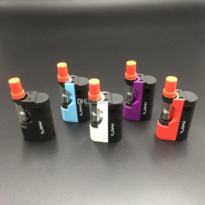 Newest Imini Mod Kit Thick Oil Vaporizer Kit Liberty V1 Tank 500mAh Box Mod 0.5ml 1.0ml Vape Cartridges DHL FREE
