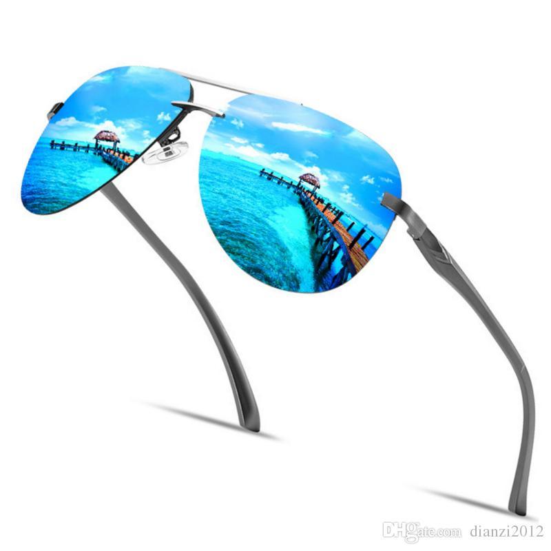a567c53dbe Compre Gafas De Sol Polarizadas Para Hombres Estilo Marca Hombre ...