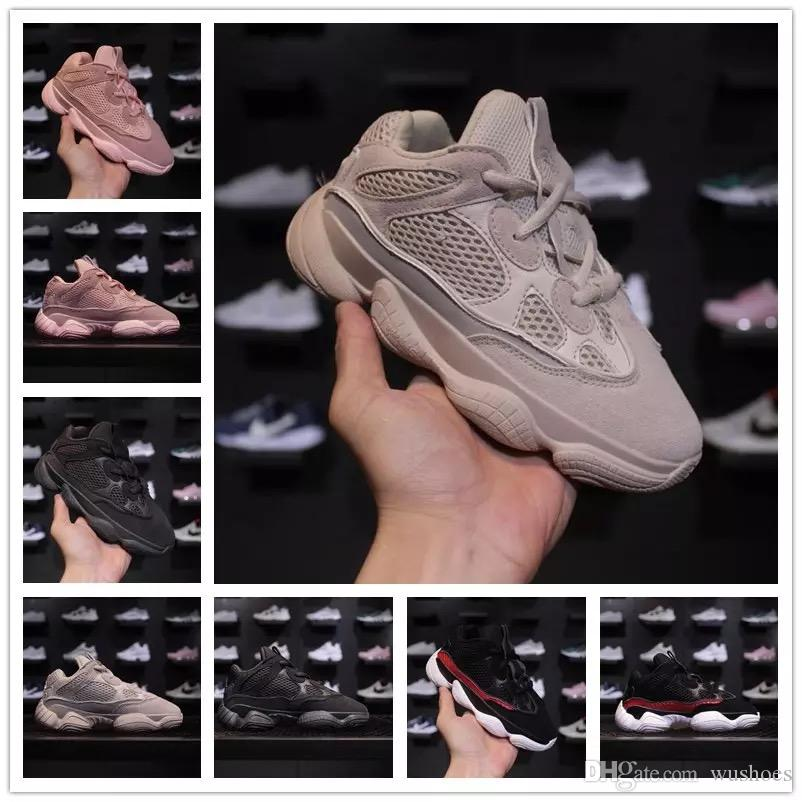 2a1c2aeb0ba Blush Desert Rat Infant 500 Runners Kids Running Shoes Utility Black Baby  Boy Girl Toddler Youth Trainers Designer Children Sneakers Running Shoes  Junior ...