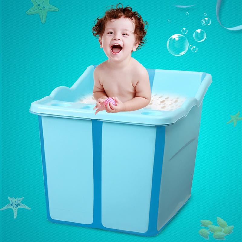 2018 Large Size Foldable Babies Bath Tub With A Seat In The Shower ...